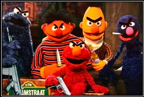 Thepoliticallychallenged as well Dark Sesame Street Memes besides Cute Monster Wallpaper together with Fall Bingo Card furthermore Dark Sesame Street Memes. on sesame street humor